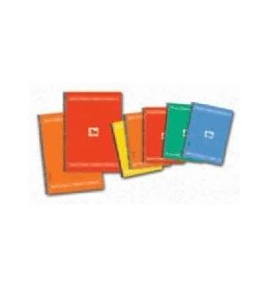 Caderno Quad. A5 Tauro Extra Capa Plast. Sort. Pack10 (6485)