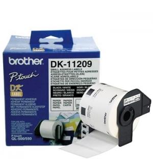 Etiquetas 62x29mm p/QL-500/550/560/570/580N/1050/1060N.