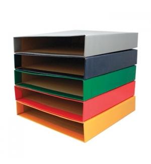 Caixa Cartao Micro p/Pasta Arquivo 310x290 L40 (Vermelho)