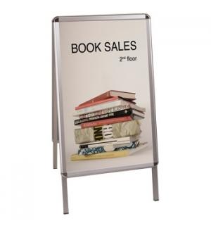 Cavalete para cartazes em Aluminio 841x594mm (DKT40303032)