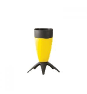 Porta Guarda Chuvas cone em PP Amarelo