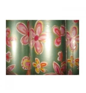 Papel Embrulho Fantasia 62cmx200mts Bobine 7Kg