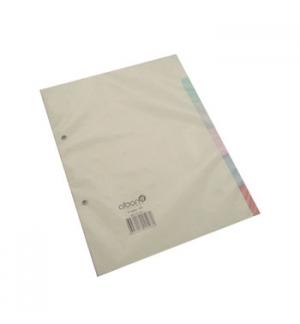 Separadores Cartolina A5 6un