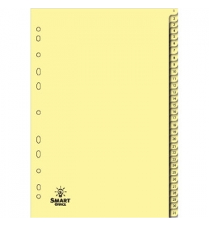 Separadores A4 Cartolina Numerados (1 a 31)