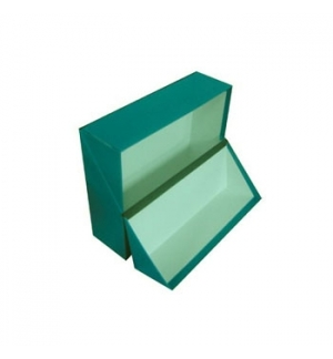 Caixa Arquivo Frances (365x280x100mm) Almaco Verde - 1un
