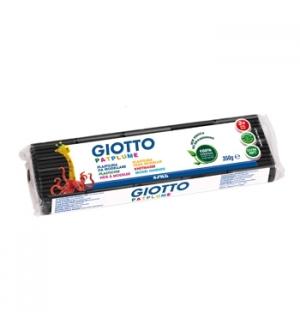 Plasticina Giotto Patplume 350gr Preto