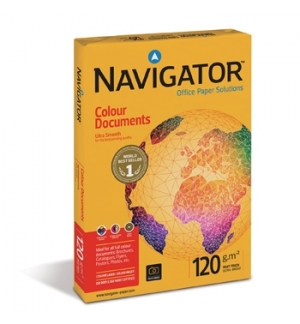 Papel Fotocopia A3 120gr Navigator (Colour Document) 4x500Fl