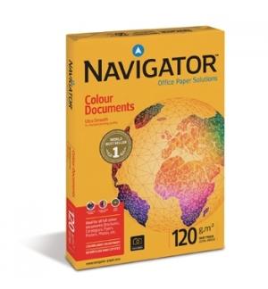 Papel 120gr Fotocopia A3  Navigator (Colour Document) 4x500F