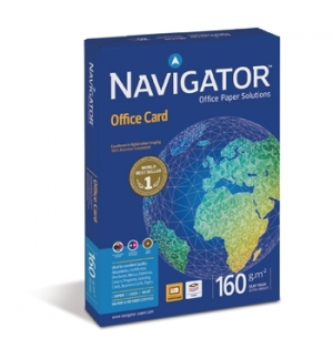 Papel 160gr Fotocopia A3 Navigator (Office Card) 5x250fls