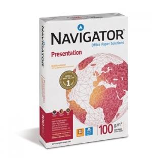Papel 100gr Fotocopia A3  Navigator (Presentation) 4x500fls