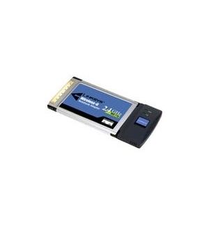 Placa Linksys WPC54G PCCard wireless 80211b 80211g