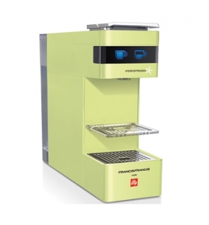 Maquina Cafe ILLY Y3 Iperespresso Cor Verde Lima
