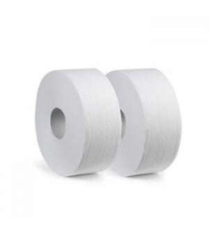 Papel Higienico (Jumbo) 090mts 2Fls Ecologico 8,9cm -12un