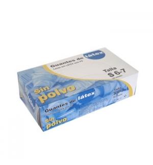 Luvas Latex s/Po Super Finas Tamanho (S) - (Pack 100un)