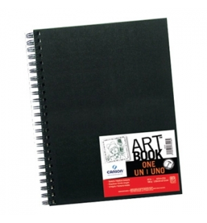 Bloco Espiral Grafico Canson Sketch one A4 100gr 80 Folhas