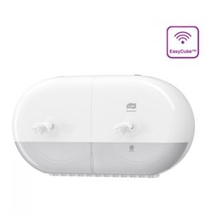 Dispensador Papel Hig. TORK T9 SmartOne Mini Duplo Branco