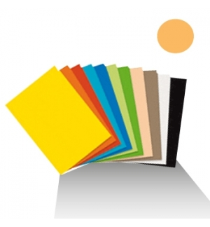 Cartolina 180gr 1 folha 50x65cm Creme (4C)