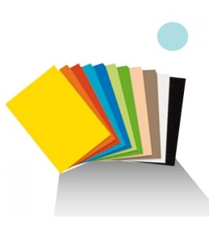 Cartolina 180gr 1 folha 50x65cm Azul Palido (5A)