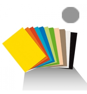 Cartolina 180gr 1 folha 50x65cm Cinzento