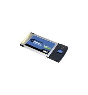 Placa Linksys WPC54G PCCard wireless 802.11b, 802.11g