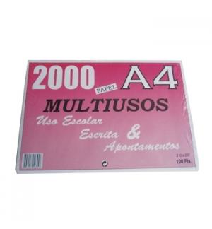 Papel Multiusos A4  060gr 100 Folhas
