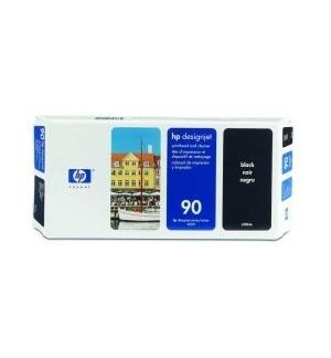 Cabeça Impressão + Kit Limpeza HP 90 Preto C5054A 44ml