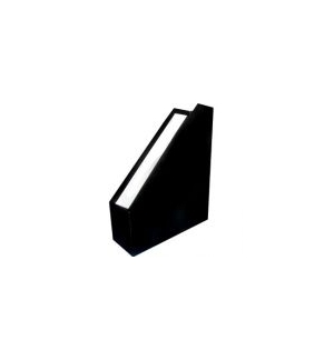 Porta Revistas Cartao L8,5 (30x25) Preto