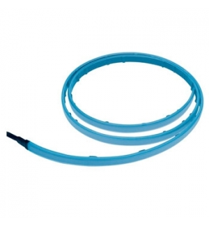 Faixa de luz Azul EL - 1,5mt