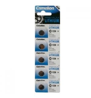 Pilha Lithium CR1220 3,0V 35mAh 5un/blister