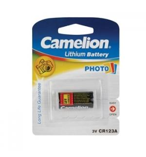 Pilha Lithium CR123A 3,0V 1300mAh 1un/blister