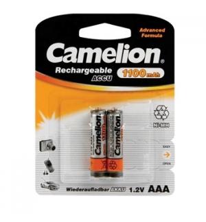 Pilha recarregavel AAA 1.2V-1100mAh 2un/blister