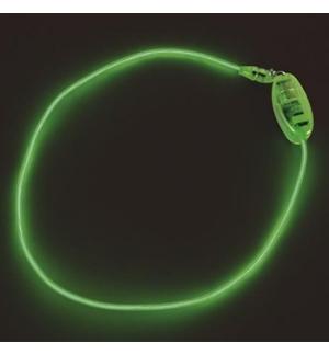 Colar electroluminescente EL Neon Verde