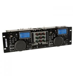 Controlador DJ USB/SD c/ misturador