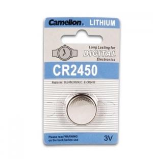 Pilha Lithium 2450 3,0V 560mAh 1un/blister