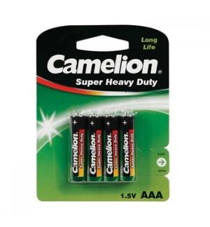 Pilhas Zinc Carbon AAA / R3 1.5V 450mAh 4un