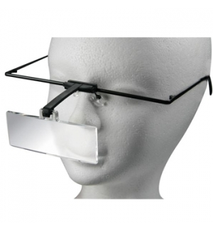 Óculos Ampliação 3 Lupas 1.5x, 2.5x, 3.5x