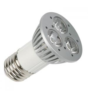 Lampada LED 3x1W branco neutro (3900-4500K) 220V E27