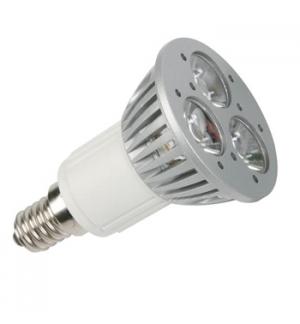 Lampada LED 3x1W branco neutro (3900-4500K) - 230V - E14