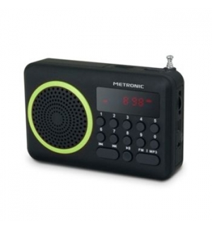 Radio portatil Digital Verde
