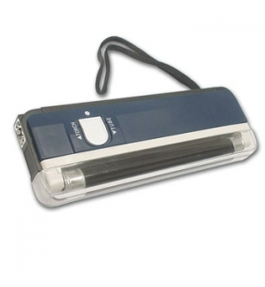 Detetor Portátil Notas Falsas Ultravioleta + Lanterna