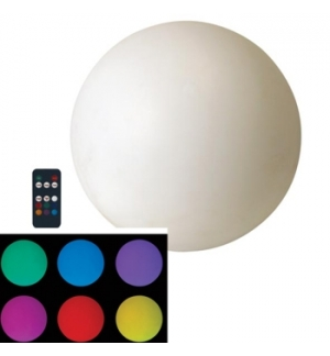 Bola LED RGB recarregável Ø60cm à prova de água (IP68)
