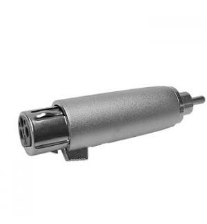 Adaptador XLR 3P fêmea/ RCA macho