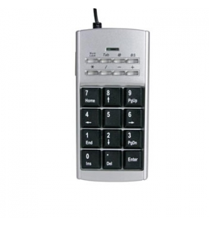 Mini Teclado Numérico e Telefone Internet USB
