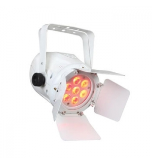 PAR LED RGBW 7x10W Mini Barndoor Branco