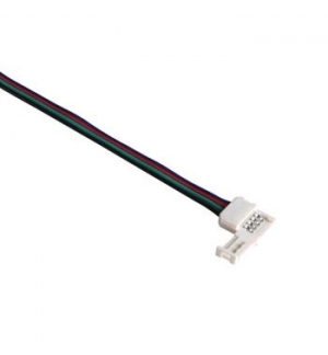 Conector com cabo para fitas LED RGB (5050)