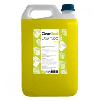 Detergente Lava Tudo Limão Cleanspot 5L