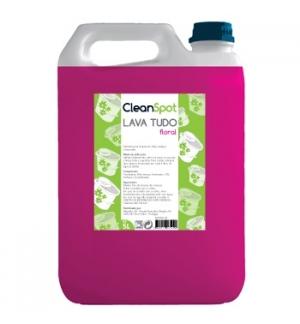Detergente Lava Tudo Floral Cleanspot 5L