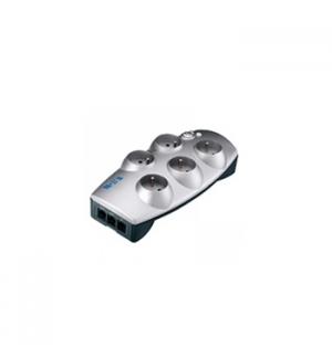Bloco 5 Tomadas ProtectionBox + Telefone + TV