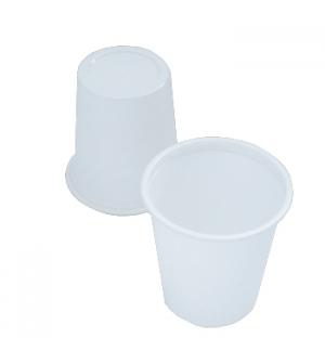 Copo Plástico 100ml Branco 50un