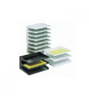Conjunto 5 Tabuleiros Metalicos Preto  (ATL6160259)